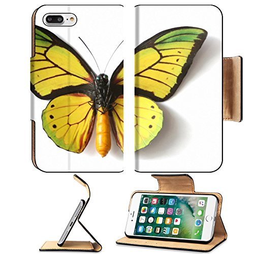 - Luxlady Premium Apple iPhone 7 Plus Flip Pu Leather Wallet Case iPhone7 Plus 27357785 Stuffed insect Butterfly Ornithoptera Goliath Supremus