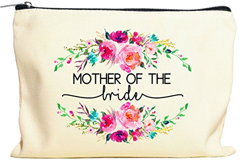 Mother Of The Bride Gifts, Makeup Bag, Mother Bride, Mother Daughter Bride, Bridal Party Gifts ()