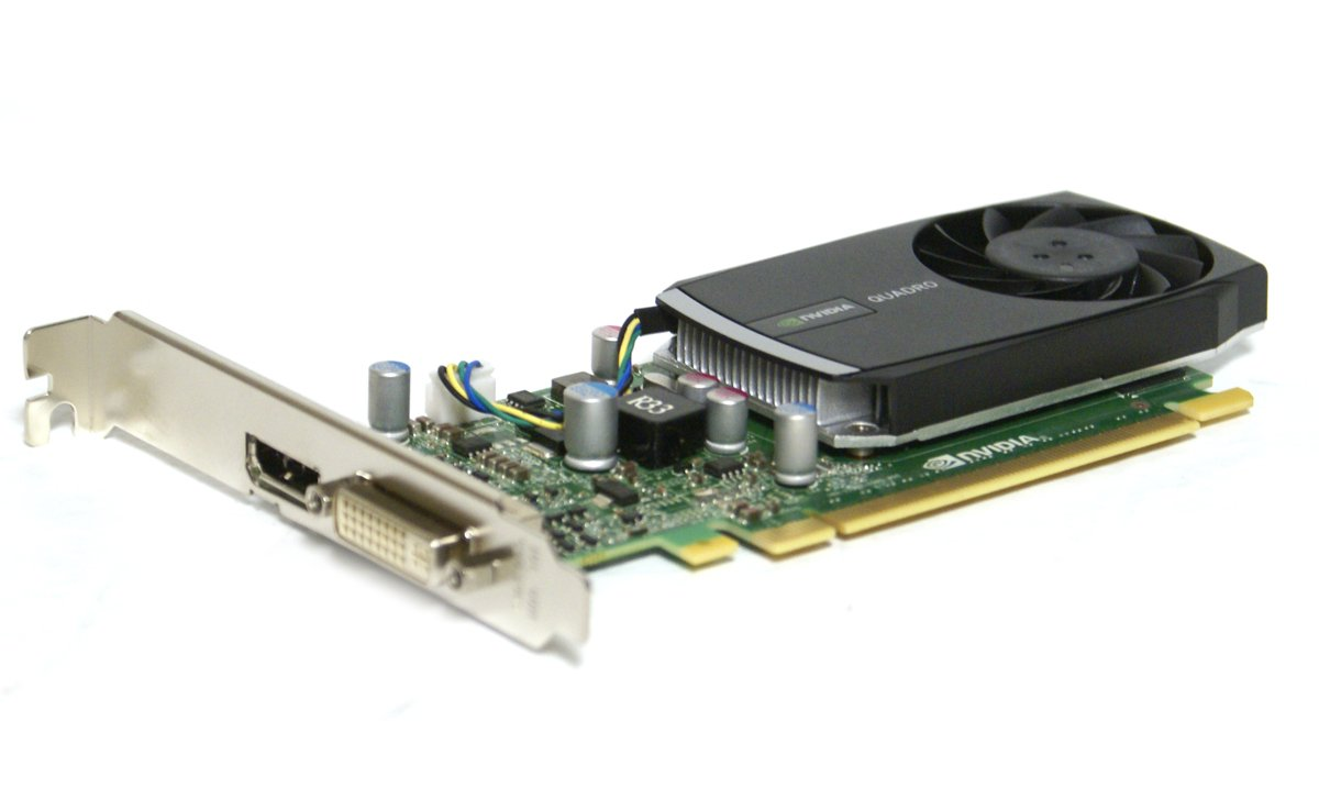 Genuine Dell Workstation Nvidia Quadro 400 512MB PCI-E 2.0 x16 DDR3 DVI-I Display Port 64-bit Graphics Video Card Dell Part Numbers: 0HWGX0, HWGX0