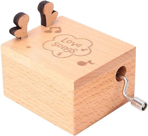 Musik Box, Cajas De Musica Manivela Caja Musica De Madera Caja De ...