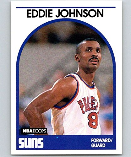 3900fba9f77b6 Amazon.com: 1989-90 Hoops Basketball #195 Eddie Johnson Phoenix Suns ...