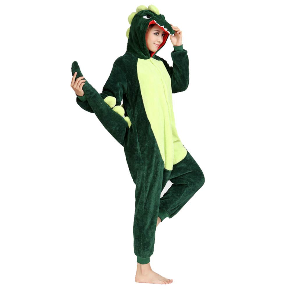 Adult Unisex Onesies Animal Kigurumi Pajamas Fleece Sleepwear