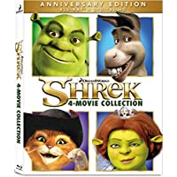 Deals on Shrek: 4 Movie Collection Blu-ray