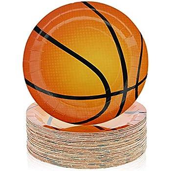 Amazon.com: Baloncesto Dream Fiesta de cumpleaños platos de ...