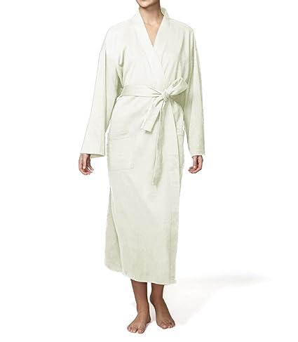236749266e Amazon.com  Pure Fiber Organic Knit Bathrobe