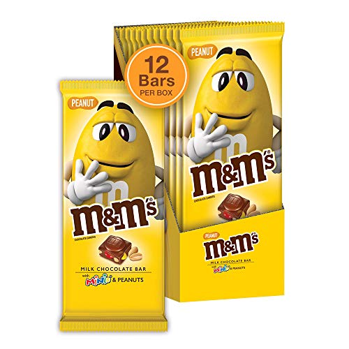 M&M'S MINIS Milk Chocolate Candy Bar, 4 Ounce (Pack of 12)