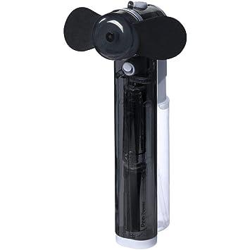 Ventilador portátil de mano con pulverizador de agua, incluye ...
