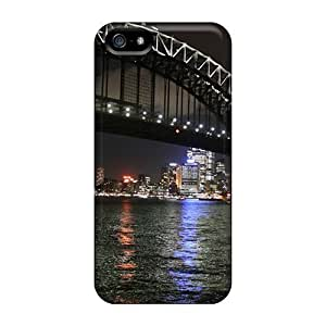 Tpu Case Cover Compatible For Iphone 5/5s/ Hot Case/ Sidney By Night Bay Bridge City