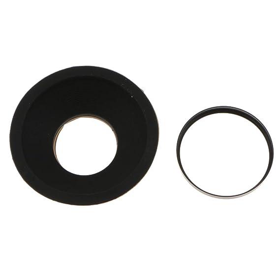 Baoblaze Tapa de Ocular de Visor de Ocular de Goma DK-19 para Nikon D800 D800E D700 D3 D2 Pieza de Reemplazo