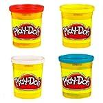 Playdoh 4 Tub Pack
