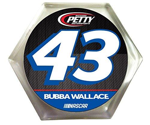 Bubba Wallace #43 NASCAR 2-Pack Acrylic Coasters