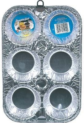 Bulk Buys Muffin Pan Aluminum 2 Pack - Case of 12