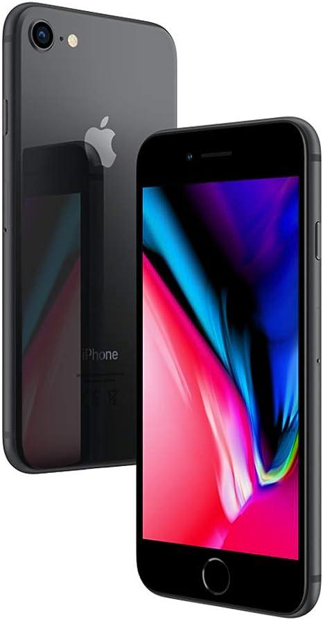 Apple iPhone 8 64GB Gris Espacial REACONDICIONADO CPO MÓVIL 4G 4.7 Retina HD/6CORE/64GB/2GB RAM/12MP/7MP: Amazon.es: Electrónica