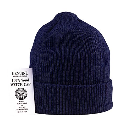 Navy Wool Watch Cap - Genuine U.S.N Wool Watch Cap