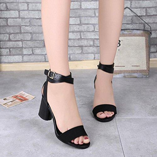 Bovake Summer Women Sandals, | Ankle Strap Heels Sandals | Heels Women Ankle Shoes Flat Wedges Shoes Lovely Footwear Flip Flop Sandal | No Rubbing | Foot Toes Comfortable To Wear Black