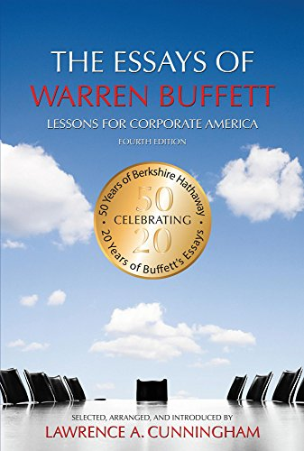 the essays of warren buffett lessons for corporate america summary