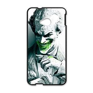 Happy Unique joker arkham city Cell Phone Case for HTC One M7