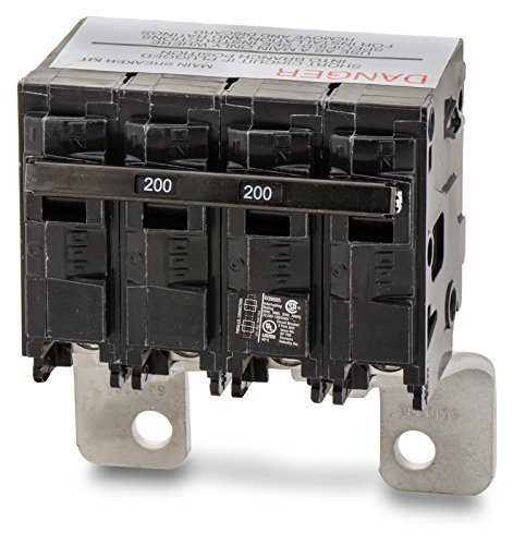 Siemens MBK200 200-Amp Main Circuit Breaker for Use in EQ Type Load Centers Made Prior to 2002 by Siemens