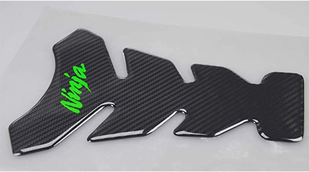 Psler Motorcycle Sticker Accessories Reflective Gas Tank Protector Pad Tankpad with Keychain for Kawasaki Ninja 650 ZX636 ZX600 ZX-10R ZX14 ZX1400 ZX14R ABS 1000 ZX1000