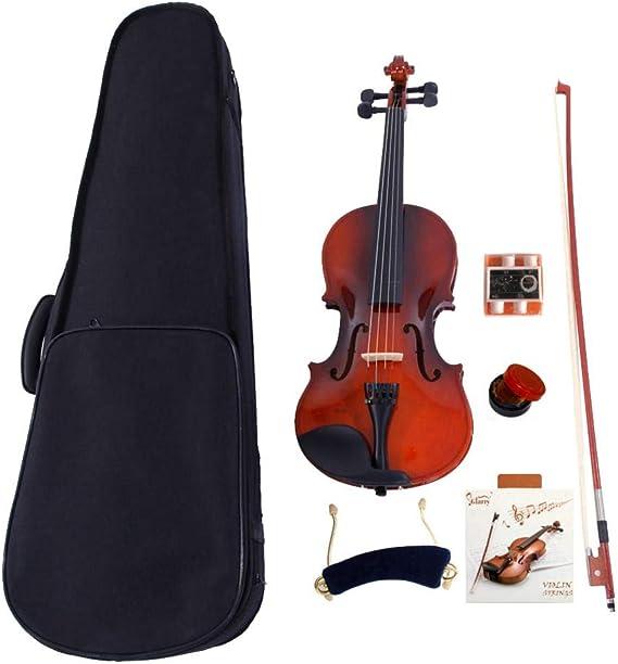 1/4 Natural Violin Set For Kid Beginner Student with Violin