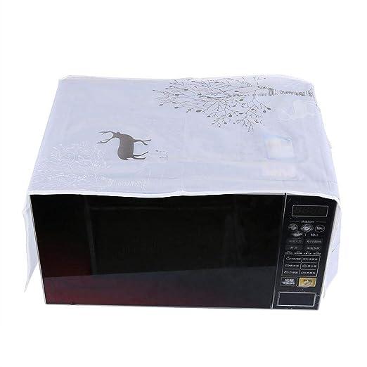 Cubierta a prueba de polvo para microondas, cubierta para horno ...
