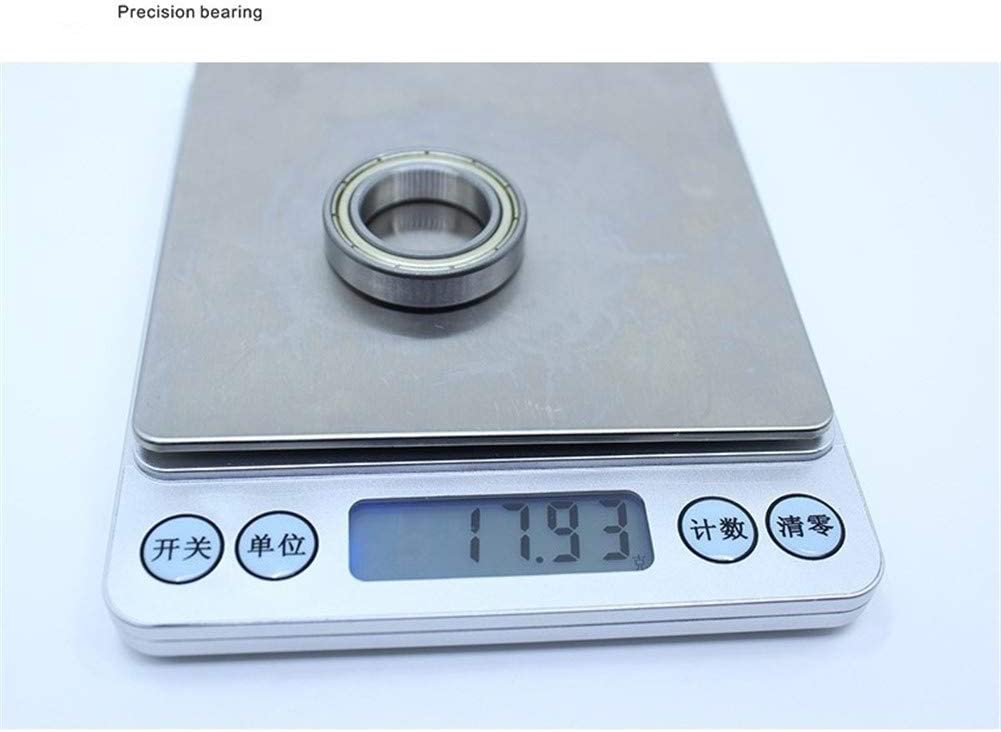 NO-LOGO CMM-Y 6804ZZ Deep Groove Ball Bearing ABEC-1 Metric Slim Thin Section Ball Bearings 61804Z 20327 mm 10 PCS