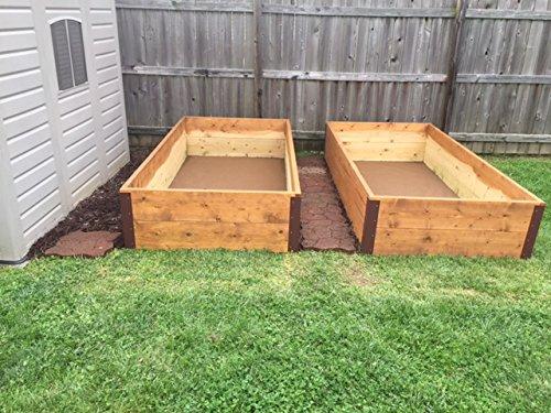 Garden Bed Corner Bracket - for 20-24'' Bed by RMP (Image #4)