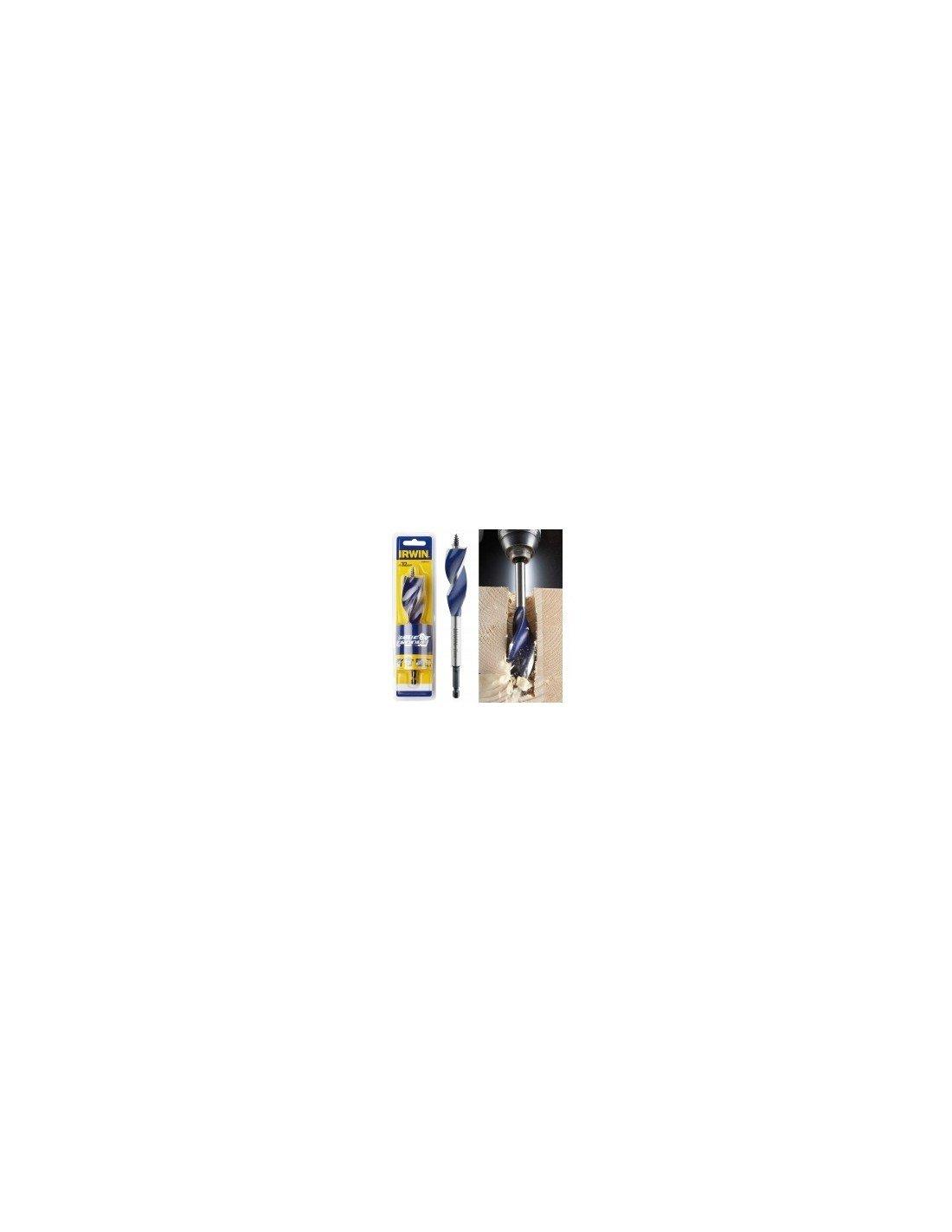 IRWIN 1921991 6X Blue Groove Stubby Wood Bit 16 mm x 4-Inch