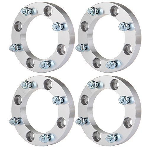 SCITOO 1 inch Wheel Spacer adapters 4x137mm to 4x137mm 4 Lugs 4X 1 25mm 10x1.25 Studs fit for Can-Am Outlander Kawasaki