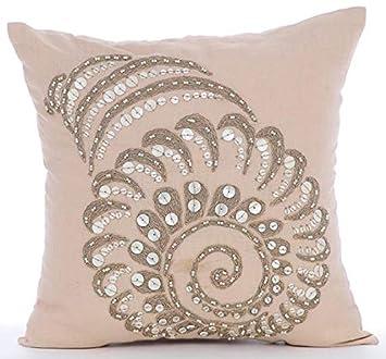 Amazon.com: Fundas de almohada decorativas de lujo, color ...