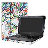 Alapmk Protective Case Cover For 11.6'' HP Stream 11 Pro G4/G3/G2/G1/11-rXXX/11-dXXX/11-yXXX Series Laptop(Warning:Not fit HP Stream x360 11),Love Tree
