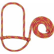 Weaver Leather Poly Rope Sheep Halter - Pink/orange/yellow