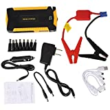 Sedeta car battery jump starter 69800mAh USB Phone Power Bank Charger Adapter Auto emergency Booster tool Compass LCD