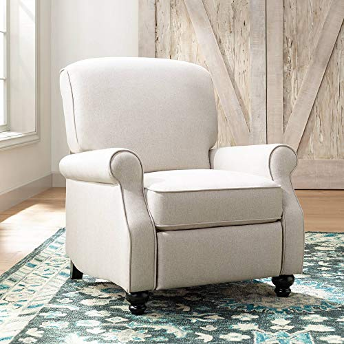 Jerrod Barley Herringbone Push Back Recliner Chair - Elm Lane ()