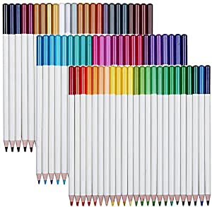 Elves Dolphin 72 No Duplicates Colors Pack Art Drawing Colored Pencils Set with Tin Case