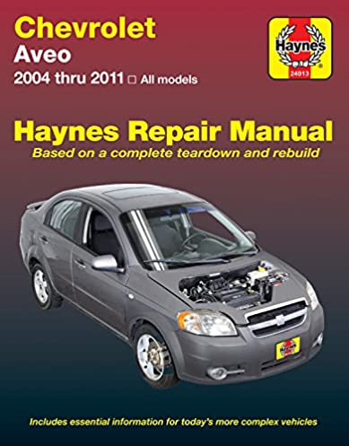 chevrolet aveo 04 11 haynes automotive haynes publishing rh amazon com 2006 chevrolet aveo owner manual pdf 2006 Chevrolet Aveo Engine