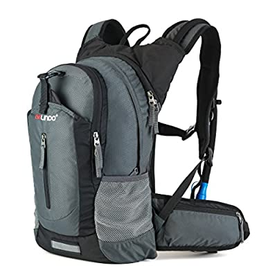Gelindo Insulated Hydration Backpack Pack 2.5L BPA Free Bladder - Keeps Liquid Cool up to 4 Hours, Water Backpack Hiking Camping Cycling Running, 18L