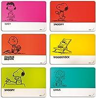Molecuisine Set Tovaglietta Americana 6 Pz. Peanuts Multicolore
