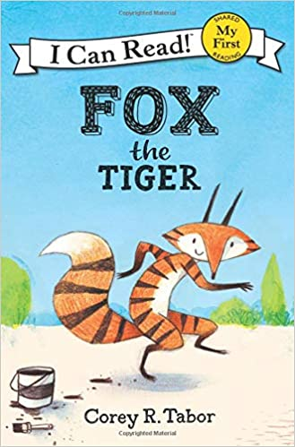 cover image, fox the tiger