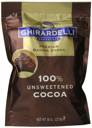 Ghirardelli Chocolate Unsweetened Cocoa Pouch
