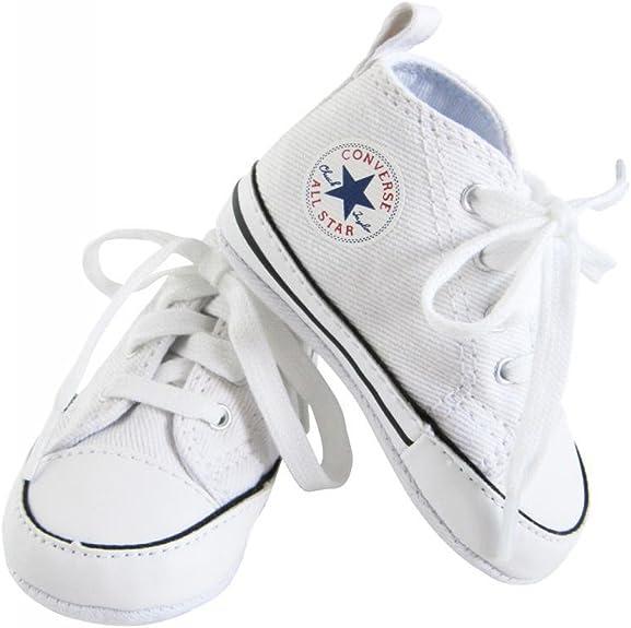 Converse Baskets All Star Toile Blanc bébé Fille