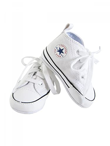 6ce355196d83a Converse-Baskets All Star Toile Blanc bébé Fille  Amazon.fr ...