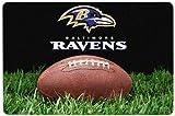 NFL Baltimore Ravens Classic Football Pet Bowl Mat, Large