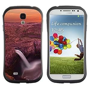 "Hypernova Slim Fit Dual Barniz Protector Caso Case Funda Para SAMSUNG Galaxy S4 IV / i9500 / i9515 / i9505G / SGH-i337 [Cascada Laguna""]"