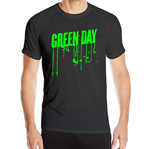 Price comparison product image Green Day Logo Mens Printing Dry Shirt