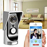 BATHWA Video Wireless Doorbell Camera WiFi Remote Doorbell Door Phone Intercom Monitor Safe