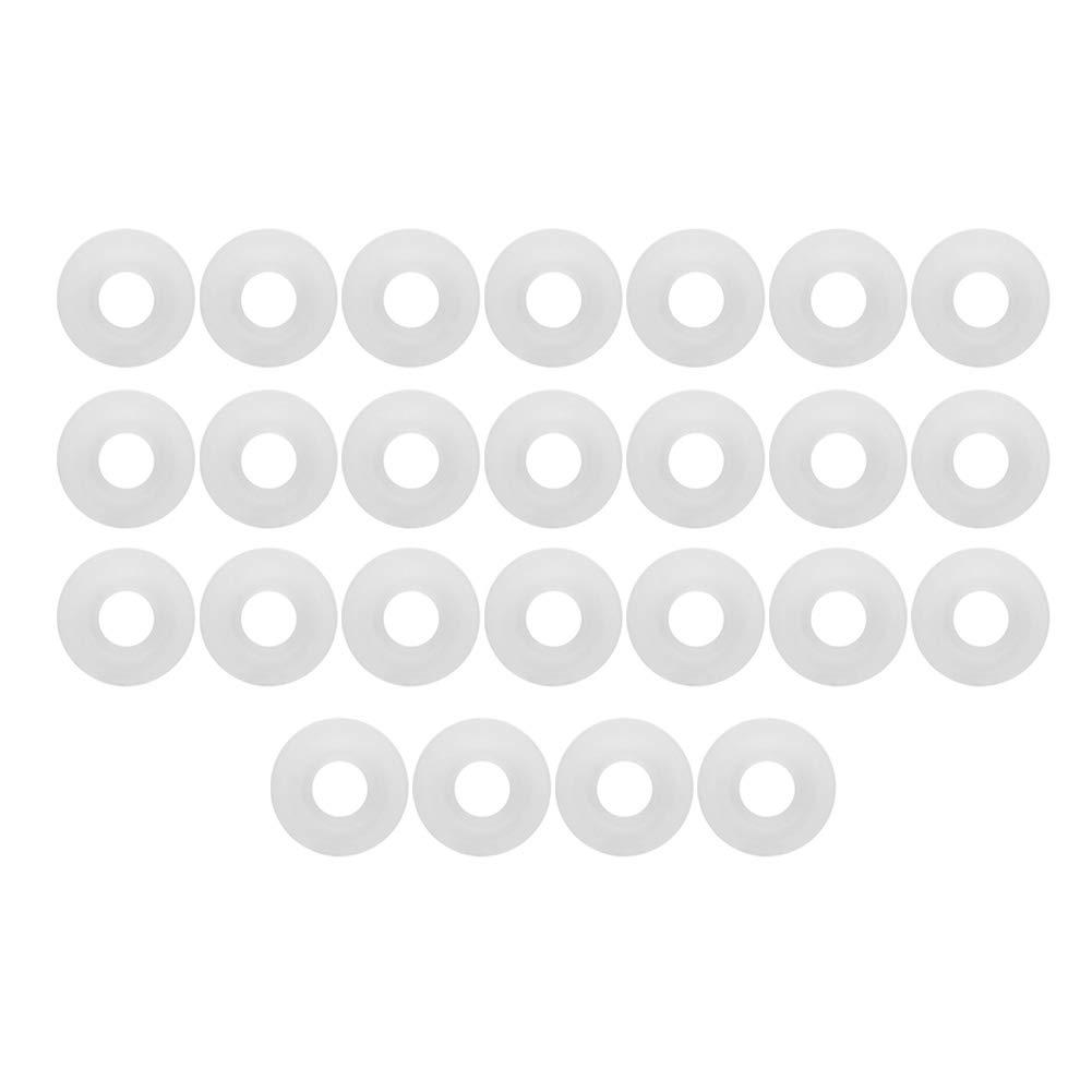 25 Pz Birra Altalena Flip Top Bottle Guarnizioni in silicone bianco Birra fatta in casa Birra Soda Guarnizione bottiglia Anello di tenuta O Swing Flip Top Bottle Birra artigianale