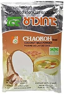 Chaokoh Coconut Milk Powder 60g. [Pack of 3]