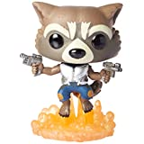Funko 13270 POP Movies: Guardians of the Galaxy 2 Flying Rocket Toy Figure