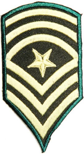 Command Sergeant Major US Rank Chevron Tab army navy academy military us air force academy cavalry marine corps national guard logo Jacket Patch Sew Iron on Embroidered Sign Badge Costume